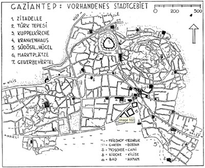 <p><strong>3. </strong>Jansen Planı öncesi  Gaziantep<br />   Kaynak: Cuda, 1939, s.18.</p>