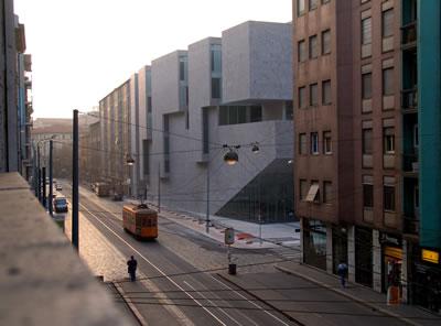 <p><strong>3.</strong> Università  Luigi Bocconi, kent içinde dikey bir kampüs <br />   Fotoğraf: Federico Brunetti</p>