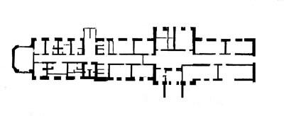<p><strong>3.</strong> 1915 yılında inşa edilmiş yapının zemin  kat planı <br />   Kaynak: TC Kültür ve Turizm Bakanlığı Konya Kültür ve  Tabiat Varlıklarını Koruma Bölge Kurulu Arşivi</p>