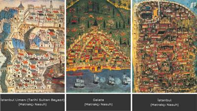 <p><strong>3.</strong> 16. yüzyıl kent  temsilleri bir o kadar yoğunluk, sıklık ve içiçe olma halini yansıtır.<br /> Kaynak: İstanbul Türk Tarih Kurumu. 2020.</p>