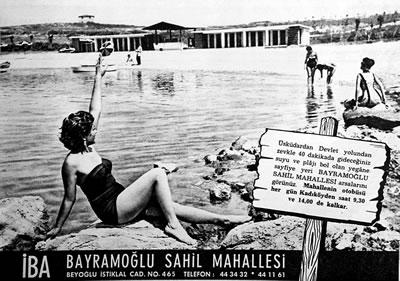 <p><strong>3.</strong> Bayramoğlu Sahil Mahallesi tanıtımı<br /> Kaynak:  Milliyet Gazetesi Arşivi</p>