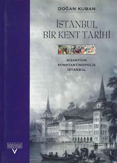 <p><strong>3.</strong> 1996 yılında İngilizce ve Türkçe olarak yayımlanan <em>İstanbul, Bir Kent Tarihi</em> başlıklı  yayının kapak görseli </p>