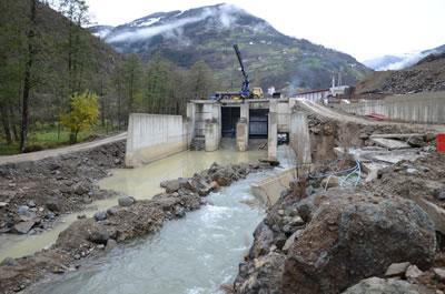 <p><strong>3.</strong> HES inşaatı, Maçka, Trabzon<br /> Fotoğraf: Oğuz Kurdoğlu</p>