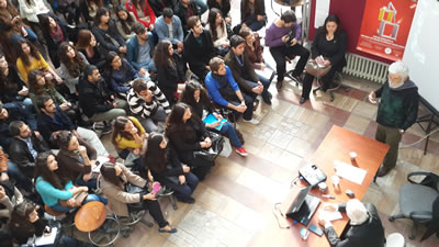 Kurultay öncesi yapılan Öğrenci Forumu