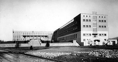 <p><strong>3. </strong>Yüksek  Ziraat Enstitüsü, Rektörlük ve Yatakhane Binası Genel Görünüm<br />Kaynak: ETHZ </p>