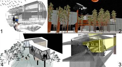 """<p><strong>3.</strong> İTÜ 2014-2015 İpek Yürekli-Gizem Özer  Architectural Design 5-6 Stüdyosundan Örnekler: 1-Bahar Kumsar: Cihangir'de toprakla bağını  koparmak istemeyenler için kentsel tarım alanı  ve yetiştirilen ürünlerin değerlendirildiği üretim-satış yeri. 2-Derya  Yavuz: Ulus'ta şehir çocuklarının  doğayı tanıyabilmeleri için yeryüzü istasyonu. 3-Buse Özçelik: Tepebaşı'nda  medyada yer alan tüm nefret söylemi  örneklerine karşı """"kolektif"""". 4-Dilşad Aladağ: Dolapdere'de mültecilerin çalışıp üretebilmesi için tekstil atölyesi.</p>"""