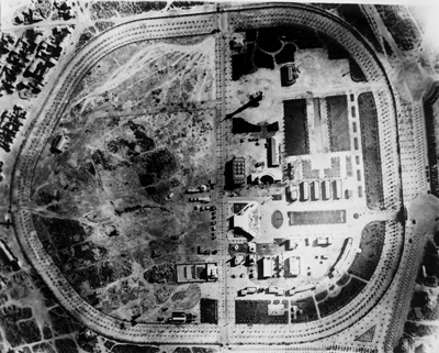 <p><strong>3. </strong>Kültürpark Hava Fotoğrafı, 1936. TMMOB Mimarlar Odası  İstanbul Büyükkent Şubesi Şener Özler Arşiv ve Dokümantasyon Merkezi<br />  Kaynak:  Mesut Özok Arşivi</p>