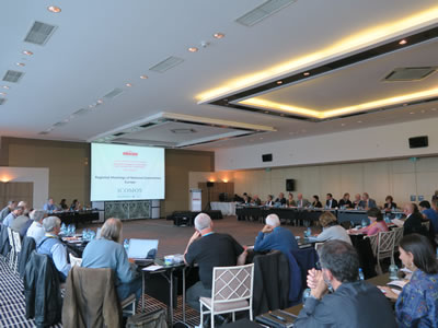 <p><strong>3.</strong> ICOMOS Avrupa Bölge Toplantısı, 17 Ekim</p>