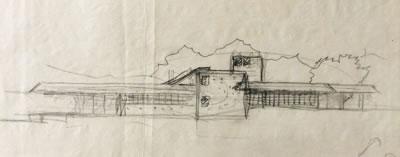 <p><strong>3a.</strong> Nezih Eldemin M.  Soygenişin öğrenci projesi Şişhanede otobüs terminali için tashih eskizi,  1980<br />   Kaynak:  S+ ARCHITECTURE Arşivi</p>
