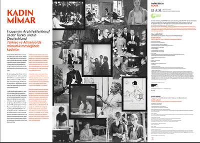 """<p><strong>3a. </strong>""""Kadın Mimar: Türkiye  ve Almanya da Mimarlık Mesleğinde Kadınlar"""" başlıklı sergiden bir kare<br /> Fotoğraf: Goethe Enstitüsü</p>"""