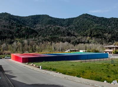 <p><strong>3a.</strong> El Petit Comte Kreşi,  2010, Besalú, Girona, İspanya - J. Puigcorbé ortaklığıyla<br />  Fotoğraf: Hisao Suzuki</p>