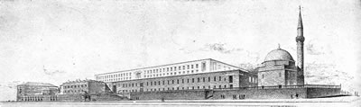 <p><strong>3a.</strong> İstanbul Adliye Binası Proje Yarışması, 1949, 2. Ödül  (Nevzat Erol ile).</p>