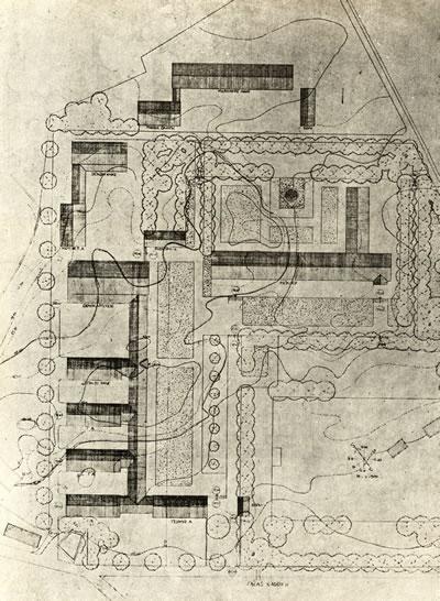 <p><strong>3a. </strong>Kayseri Erkek Sanat  Okulunun vaziyet planı, planı ve inşaatı<br /> Kaynak: Oran, 1952. </p>