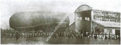 <p><strong>3(b).</strong> Balon Hangarı, Edirne<br />Kaynak: Cengiz Apaç Kişisel Arşivi</p>