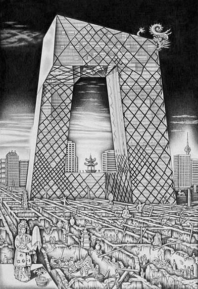 <p><strong>3b. </strong>Eleştirel  düşünme ile davranış eşgüdümü: Paradokslar dünyasına bakış. <br />  Kaynak: Franck, Karen A., 1996, <strong>Nancy Wolf: Hidden Cities, Hidden Longings</strong>, Academy Editions.</p>