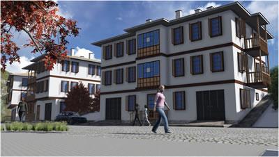 <p><strong>3b. </strong>Amasya  İline ait Yöresel Mimari Projeler<br />  Kaynak: URL7.</p>