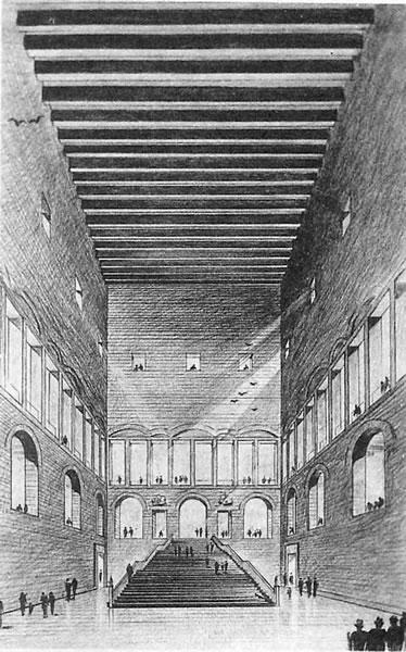 <p><strong>3b.</strong> İstanbul Adliye Binası Proje Yarışması, 1949, 2. Ödül  (Nevzat Erol ile).</p>