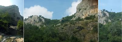 <p><strong>3b. </strong>Ballıkayalar, İstanbula olan yakınlığından ötürü dağ  yürüyüşü ve kaya tırmanışı yapanların da sıklıkla tercih ettiği bir durak. <br />   Fotoğraflar:  Gözde Kızıltan, gozdekizilkan.blogspot.com<strong></strong></p>