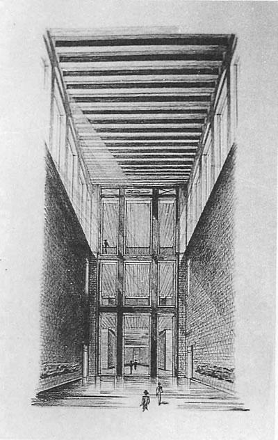 <p><strong>3c.</strong> İstanbul Adliye Binası Proje Yarışması, 1949, 2. Ödül  (Nevzat Erol ile).</p>