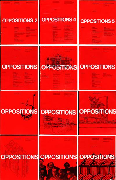 <p><strong>4.</strong> <em>Oppositions</em> dergi kapakları seçkisi<br />Kaynak: www.janaculek.com