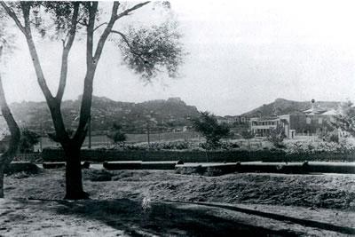 <p><strong>4.</strong> Genel  Görünüm, 1930 lar<br />   Kaynak:  Ankara Posta Kartları ve Belge Fotoğrafları Arşivi (BelKo)</p>