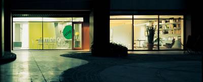 <p><strong>4.</strong> Solda, Şevki Pekin tasarımı Fotoğraf ve Film Stüdyosu, sağda Şevki Pekin  Mimarlık Ofisi</p>