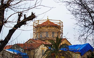<p><strong>4. </strong>Restorasyon Çalışmaları<strong></strong><br />   Kaynak: Ahmet Kalmuk</p>