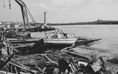 <p><strong>4.</strong> Bernhard Lüginbühlün  parçaları Giudeccadan Venedike bir tekne aracılığıyla taşıması <br />   Kaynak: ASAC, 1975: A.V.106.1975.17</p>