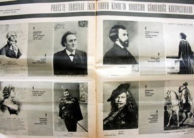 <p><strong>4. </strong>Yahya Kemalin Pariste öğrenciliği sırasında babasına  yolladığı kartpostallar <br /> Kaynak:  Şevket Rado, 1984.</p>