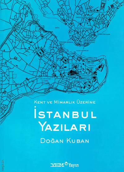 <p><strong>4.</strong> 1998 tarihli <em>Kent ve Mimarlık Üzerine İstanbul Yazıları </em>başlıklı kitabın kapak  görseli</p>