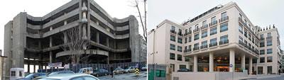 Yapımına 1989 yılında başlanan birçok defa yapımı durdurulduktan sonra tamamlanan Park Hotel