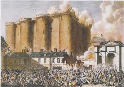<p><strong>4.</strong> Bastille Hapishanesi'nde başlayan  Fransız Devrimi<br />(Kaynak: Fransız Milli  Kütüphanesi Arşivi, 2013)</p>