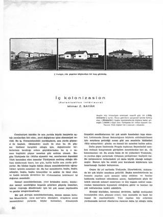 <p><strong>4.</strong> <em>Arkitekt</em> dergisinden Zeki Sayar&rsquo;ın  Yazısı.<br />  Kaynak: Sayar, 1936/62, s.46.</p>