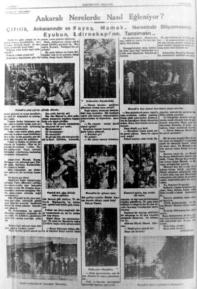 <p><strong>Resim 4. </strong>19 Ağustos 1933, Hâkimiyet-i Milliye. </p>