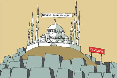 <strong>4.</strong>Çamlıca Camisi<strong></strong><br />Kaynak: www.uludagsozluk.com/r/marifet-çamlıca-ya-cami-değil-küba-ya-yapmaktır-709036/