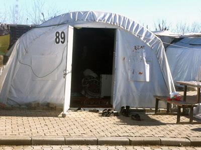 <p><strong>4. </strong>Diyarbakır Çınar Çadır Kampı,  2015</p>