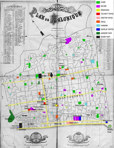 <p><strong>4.</strong> Selanikte genişletilen ve yeni  açılan caddeler<br />  Kaynak: BOA, Y.EE.64/4,  1882.</p>