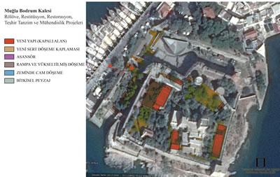 <p><strong>4. </strong>Bahse konu olan yeni binaların uydu fotoğrafları  üzerine çakıştırılması</p>