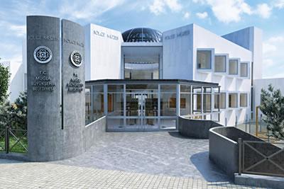 <p><strong>4b. </strong>Muğla Bölge Müzesi  proje görseli, maketi<strong></strong><br /> Fotoğraf: Özgür Tarımcıoğlu<strong></strong></p>