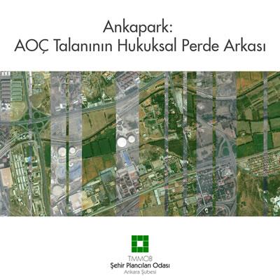 <p><strong>4a. </strong>Ankapark projesi ile  kültürel, tarihî ve doğal mirasımız olan AOÇ nin yok edileceğini vurgulayan  Şehir Plancıları Odasının konuya ilişkin basın açıklaması görselleri<br /> Kaynak: Şehir Plancıları  Odası Ankara Şubesi</p>