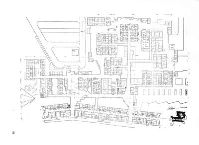 <p><strong>Resim 4b.</strong><strong> </strong>Ankara  Gülhane Askeri Tıp Akademisi Yarışması, Önalın 1. Ödül alan projeyi değerlendirme  krokisi ve projenin planı<br />Kaynak: Arkitekt, sayı: 1962/02 (307), s. 85.