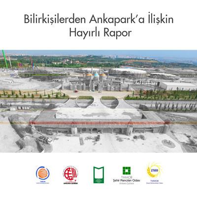 <p><strong>4c. </strong>Ankapark projesi ile  kültürel, tarihî ve doğal mirasımız olan AOÇ nin yok edileceğini vurgulayan  Şehir Plancıları Odasının konuya ilişkin basın açıklaması görselleri<br /> Kaynak: Şehir Plancıları  Odası Ankara Şubesi</p>