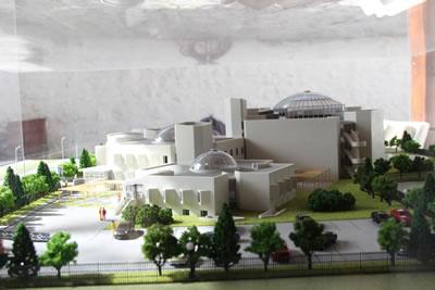 <p><strong>4c. </strong>Muğla Bölge Müzesi  proje görseli, maketi<strong></strong><br /> Fotoğraf: Özgür Tarımcıoğlu<strong></strong></p>