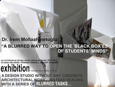 <p><strong>5.</strong> Mollaahmetoğlu Falay, İrem, 2012, Öğrenci Çalışmaları Sergi  Posteri, Taşkışla, 4 Mayıs - 4 Haziran 2012.<br />   Kaynak: İrem  Mollaahmetoğlu Falay</p>