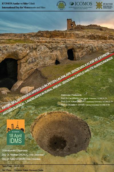 <p><strong>5.</strong> 2019 yılı Uluslararası Anıtlar ve Sitler Günü Diyarbakır Etkinliği Posteri<br />Kaynak: http://www.icomos.org.tr/Dosyalar/ICOMOSTR_tr0394488001557327960.jpg