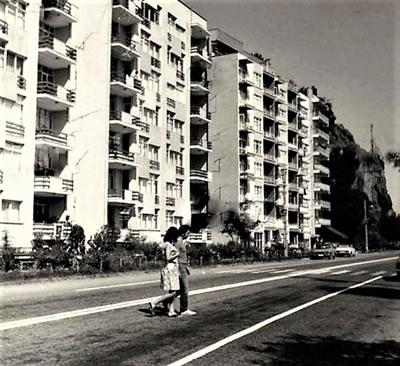 <p><strong>5.</strong> 1970 li yıllarda Birlik Evleri<br />   Kaynak: Hüseyin Menteşeoğlu  arşivi</p>