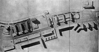 <p><strong>5.</strong> Birincilik ödülü alan Doğan Tekeli, Tekin Aydın ve Sami Sisanın Konak  Sitesi projesi<br />   Kaynak: 1956, <strong>Arkitekt</strong>, sayı: 02(284), ss.59.</p>