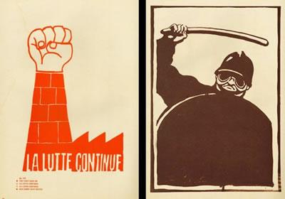 <p><strong>5. </strong>Yararlı Sanat Ofisi  arşivi podcast kayıtları<br />   Kaynak: Atelier  Populaire, Fransa, 1968</p>