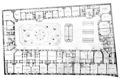 """<p><strong>5. </strong>Hemgården projesine ait  plan<br /> Kaynak: Vestbro, Dick  Urban; Lisa, Horelli, 2012, """"Design for Gender Equality: The History of  Co-housing Ideas and Realities"""", <strong>Built Environment</strong>,  cilt:38, sayı:3, ss.315-335.</p>"""