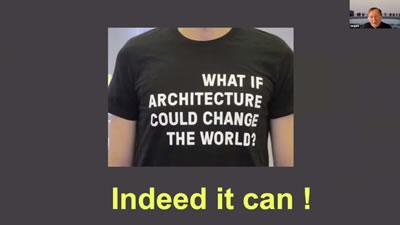 """<p><strong>5.</strong> Birlikte  Tasarlamak I, """"Ya mimarlık dünyayı değiştirebiliyorsa?"""" """"Aslında değiştirebilir""""</p>"""